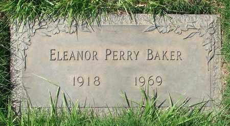 BAKER, ELEANOR PERRY - Polk County, Oregon | ELEANOR PERRY BAKER - Oregon Gravestone Photos