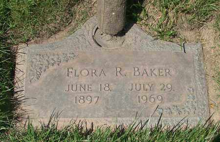 BAKER, FLORA R - Polk County, Oregon | FLORA R BAKER - Oregon Gravestone Photos