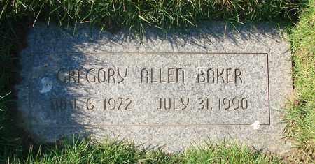 BAKER, GREGORY ALLEN - Polk County, Oregon | GREGORY ALLEN BAKER - Oregon Gravestone Photos