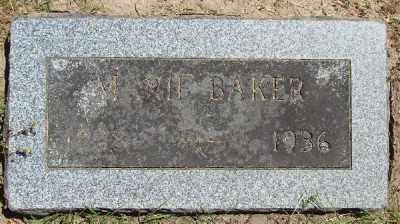 BAKER, MARIE - Polk County, Oregon | MARIE BAKER - Oregon Gravestone Photos