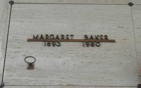 BAKER, MARGARET - Polk County, Oregon | MARGARET BAKER - Oregon Gravestone Photos