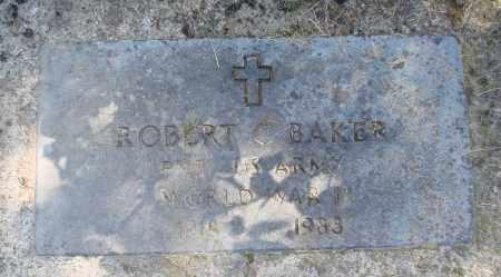 BAKER (WWII), ROBERT C - Polk County, Oregon | ROBERT C BAKER (WWII) - Oregon Gravestone Photos