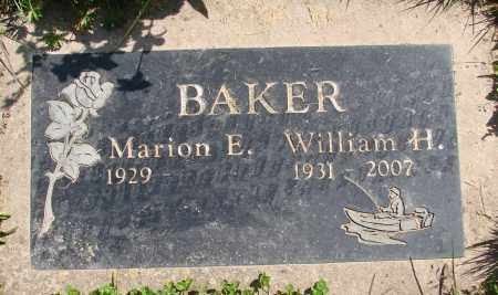 BAKER, MARION E - Polk County, Oregon | MARION E BAKER - Oregon Gravestone Photos