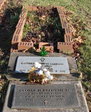 BALDWIN (VN), GEORGE H., SR - Polk County, Oregon | GEORGE H., SR BALDWIN (VN) - Oregon Gravestone Photos