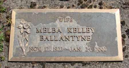 BALLANTYNE, MELBA KELLEY - Polk County, Oregon | MELBA KELLEY BALLANTYNE - Oregon Gravestone Photos