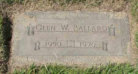 BALLARD, GLEN W - Polk County, Oregon | GLEN W BALLARD - Oregon Gravestone Photos