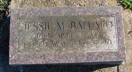 BALLARD, JESSIE M - Polk County, Oregon | JESSIE M BALLARD - Oregon Gravestone Photos