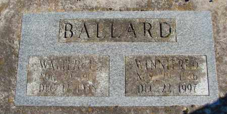 BALLARD, WINNIFRED - Polk County, Oregon | WINNIFRED BALLARD - Oregon Gravestone Photos