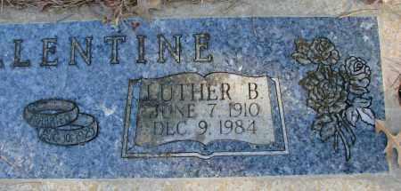 BALLENTINE, LUTHER B - Polk County, Oregon | LUTHER B BALLENTINE - Oregon Gravestone Photos
