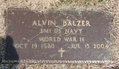 BALZER, ALVIN - Polk County, Oregon | ALVIN BALZER - Oregon Gravestone Photos