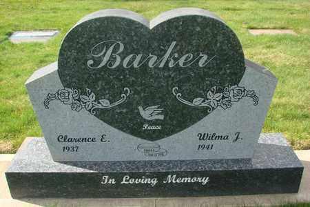 BARKER, CLARENCE E - Polk County, Oregon | CLARENCE E BARKER - Oregon Gravestone Photos