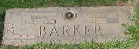 BARKER, L ARLENE - Polk County, Oregon | L ARLENE BARKER - Oregon Gravestone Photos