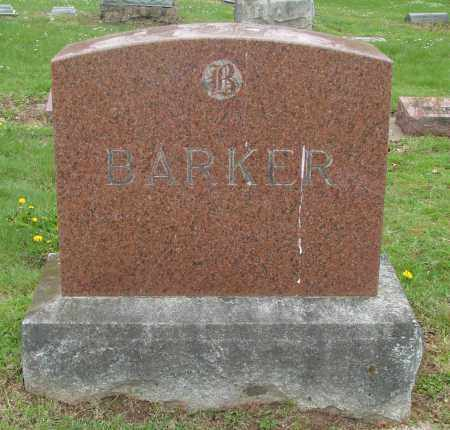 BARKER, HANNAH - Polk County, Oregon | HANNAH BARKER - Oregon Gravestone Photos