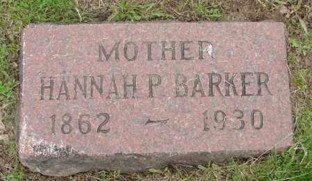 BARKER, HANNAH - Polk County, Oregon   HANNAH BARKER - Oregon Gravestone Photos
