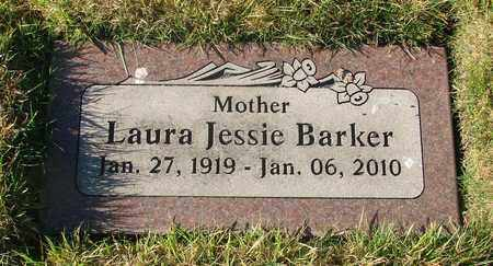 BARKER, LAURA JESSIE - Polk County, Oregon | LAURA JESSIE BARKER - Oregon Gravestone Photos