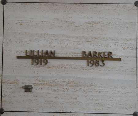 BARKER, LILLIAN - Polk County, Oregon   LILLIAN BARKER - Oregon Gravestone Photos