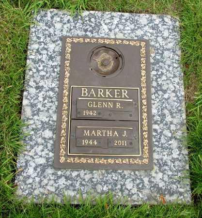 BARKER, MARTHA JANE - Polk County, Oregon | MARTHA JANE BARKER - Oregon Gravestone Photos