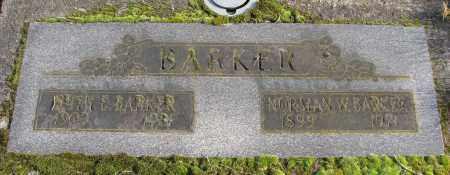 BARKER, RUTH E - Polk County, Oregon | RUTH E BARKER - Oregon Gravestone Photos