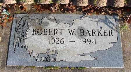 BARKER, ROBERT WARD - Polk County, Oregon | ROBERT WARD BARKER - Oregon Gravestone Photos