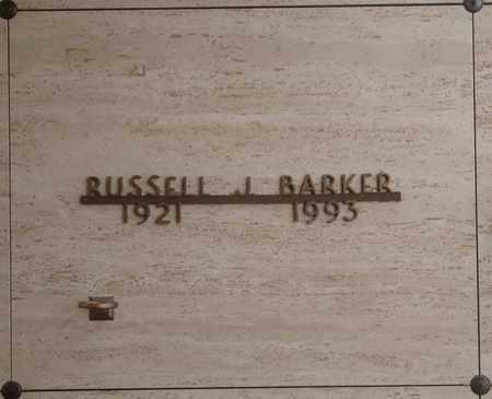 BARKER, RUSSELL JAMES - Polk County, Oregon | RUSSELL JAMES BARKER - Oregon Gravestone Photos