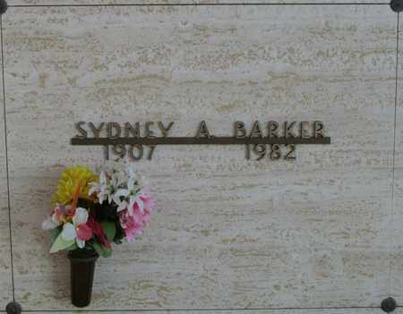 BARKER, SYDNEY A - Polk County, Oregon | SYDNEY A BARKER - Oregon Gravestone Photos