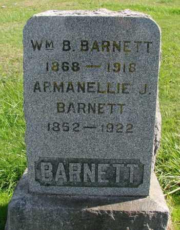 BARNETT, WILLIAM B - Polk County, Oregon | WILLIAM B BARNETT - Oregon Gravestone Photos