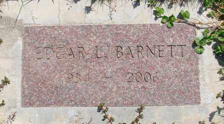 BARNETT, EDGAR L - Polk County, Oregon | EDGAR L BARNETT - Oregon Gravestone Photos