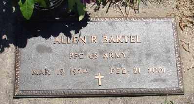 BARTEL (WWII), ALLEN R - Polk County, Oregon | ALLEN R BARTEL (WWII) - Oregon Gravestone Photos