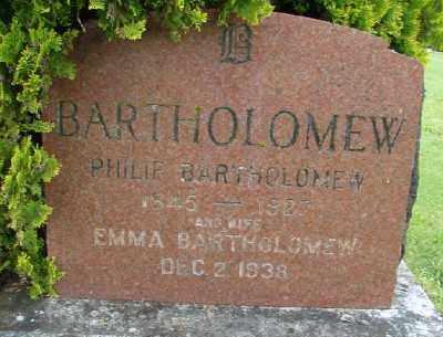 BARTHOLOMEW, PHILIP - Polk County, Oregon | PHILIP BARTHOLOMEW - Oregon Gravestone Photos