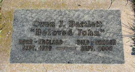 BARTLETT, OWEN J - Polk County, Oregon   OWEN J BARTLETT - Oregon Gravestone Photos