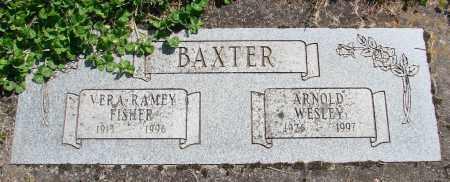 BAXTER, ARNOLD WESLEY - Polk County, Oregon | ARNOLD WESLEY BAXTER - Oregon Gravestone Photos