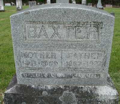 BAXTER, CORDELIA JANE - Polk County, Oregon | CORDELIA JANE BAXTER - Oregon Gravestone Photos