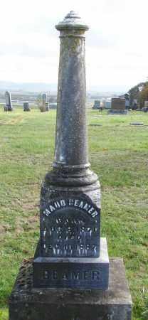 BEAMER, MAUD - Polk County, Oregon | MAUD BEAMER - Oregon Gravestone Photos