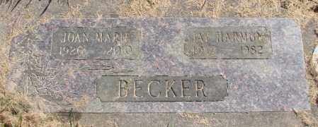 BECKER, JAY HARMON JR - Polk County, Oregon | JAY HARMON JR BECKER - Oregon Gravestone Photos