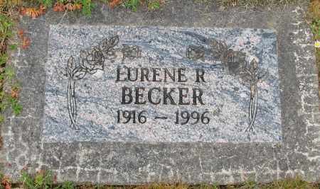 BECKER, LURENE R - Polk County, Oregon | LURENE R BECKER - Oregon Gravestone Photos