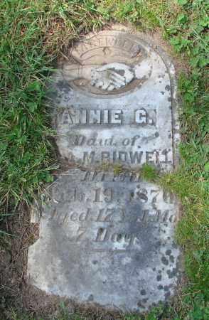 BEDWELL, ANNIE G - Polk County, Oregon | ANNIE G BEDWELL - Oregon Gravestone Photos