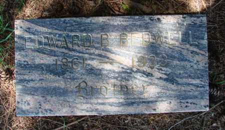 BEDWELL, EDWARD BERNARD - Polk County, Oregon | EDWARD BERNARD BEDWELL - Oregon Gravestone Photos