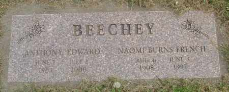 BEECHEY, NAOMI BURNS - Polk County, Oregon | NAOMI BURNS BEECHEY - Oregon Gravestone Photos