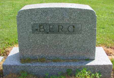 BERG, CLARA A - Polk County, Oregon | CLARA A BERG - Oregon Gravestone Photos