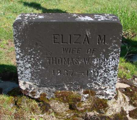 COLLINS, ELIZA M - Polk County, Oregon | ELIZA M COLLINS - Oregon Gravestone Photos