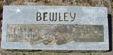 BEWLEY, CLARA W - Polk County, Oregon | CLARA W BEWLEY - Oregon Gravestone Photos