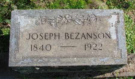 BEZANSON, JOSEPH - Polk County, Oregon | JOSEPH BEZANSON - Oregon Gravestone Photos