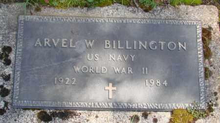 BILLINGTON, ARVEL W - Polk County, Oregon | ARVEL W BILLINGTON - Oregon Gravestone Photos