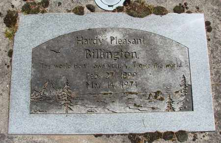 BILLINGTON, HARDY PLEASANT - Polk County, Oregon | HARDY PLEASANT BILLINGTON - Oregon Gravestone Photos