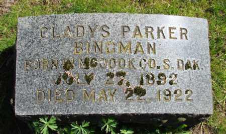 PARKER BINGMAN, GLADYS - Polk County, Oregon   GLADYS PARKER BINGMAN - Oregon Gravestone Photos