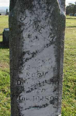 BLANKENSHIP, JANE M - Polk County, Oregon | JANE M BLANKENSHIP - Oregon Gravestone Photos