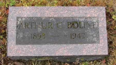 BOLINE, ARTHUR C - Polk County, Oregon | ARTHUR C BOLINE - Oregon Gravestone Photos