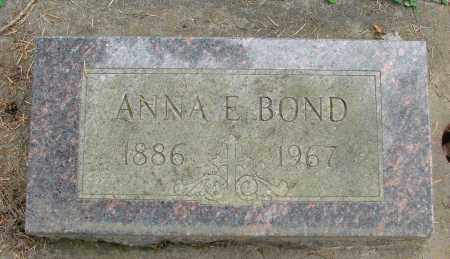 BOND, ANNA E - Polk County, Oregon   ANNA E BOND - Oregon Gravestone Photos