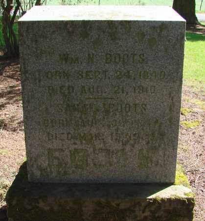 BOOTS, WILLIAM N - Polk County, Oregon   WILLIAM N BOOTS - Oregon Gravestone Photos