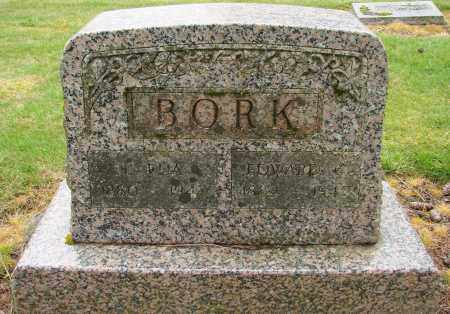 BORK, EDWARD - Polk County, Oregon | EDWARD BORK - Oregon Gravestone Photos